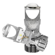 H4 / 9003 / HB2 Hi / lo LED Mini Car Headlight Projector Lens 12V 24V White 5500K 72W / Pair LED Car Bulb LED Conversion 12v 24v relay harness control cable for h4 hi lo hid bulbs wiring controller