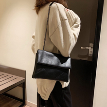 цена на Luxury Chain Foldable Women Shoulder Bags Fashion Large Capacity  Messenger Bag Casual Pu Leather Crossbody Bag Women Tote Purse