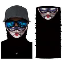 3D Iron Man Batman Skeleton Seamless Magic Neck Cycling Motorcycle Head Warmer Face Mask Ski Balaclava Headband Tube Scarf #30 bjmoto cool skeleton skull motorcycle ski headband sport outdoor neck face mask mtb racing cycling windproof scarf balaclava