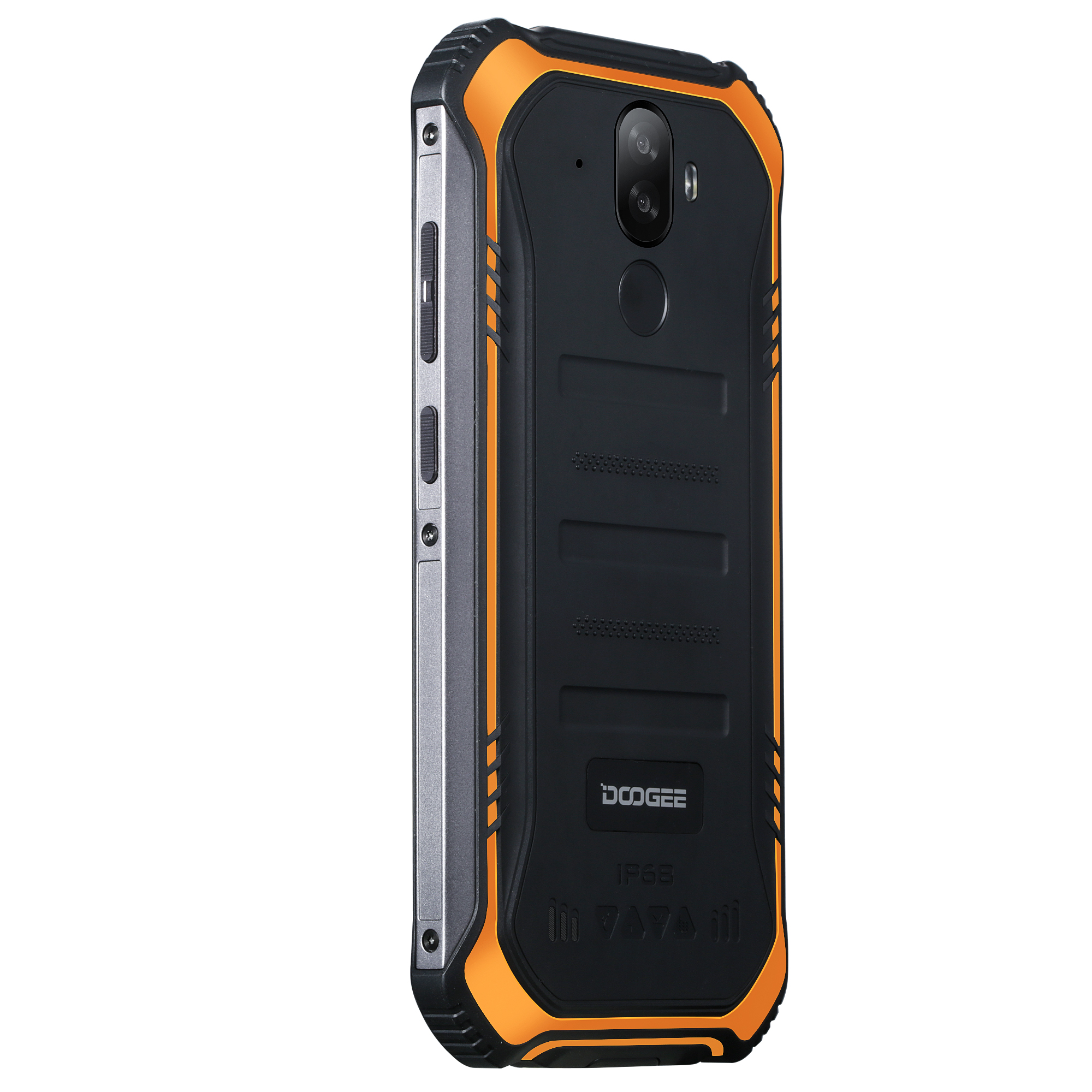 Image 4 - DOOGEE S40 S40 Lite IP68/IP69K Rugged Mobile Phone 5.5 Inch Android 9.0 Smartphone MT6739 Quad Core Cellphone 3GB 32GB 4650mAh-in Cellphones from Cellphones & Telecommunications