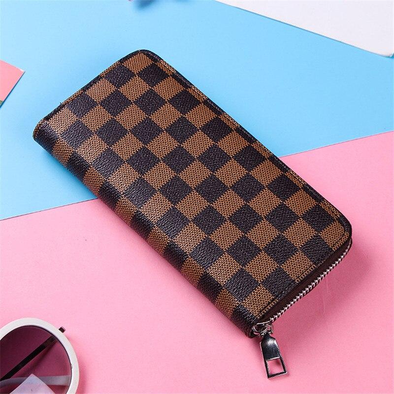 Printing Pattern Wallet Women Mobile Phone Bag  Female Card PU Leather Long Women Wallets  Purses Ladies Slim Card Holder Purse