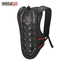 Motorcycle Armor Vest Spine Chest Back Protector Body Armor Motocross Protective Gears Moto Vest Skateboard Skiing Jacket