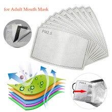 20pcs 30pcs 50pcs 100pcs PM2.5 Filter paper Anti Haze mouth Mask anti dust mask Filter paper Health Care Adult