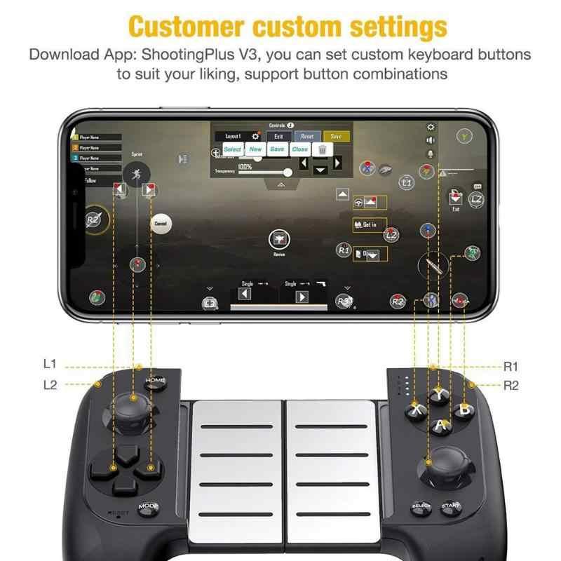2019 New Saitake 7007x Wireless Bluetooth Game Controller Telescopic Gamepad Joystick For Samsung Xiaomi Huawei Android Phone Pc Gamepads Aliexpress