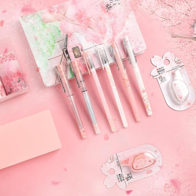 JIANWU 11pcs/set sakura series limited set cute Planner Diary  journal Stationery set Student gifts shcool supplies kawaii