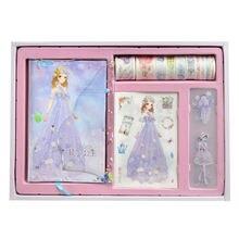 Принцесса цветок наклейка для учетной записи Подарочная коробка