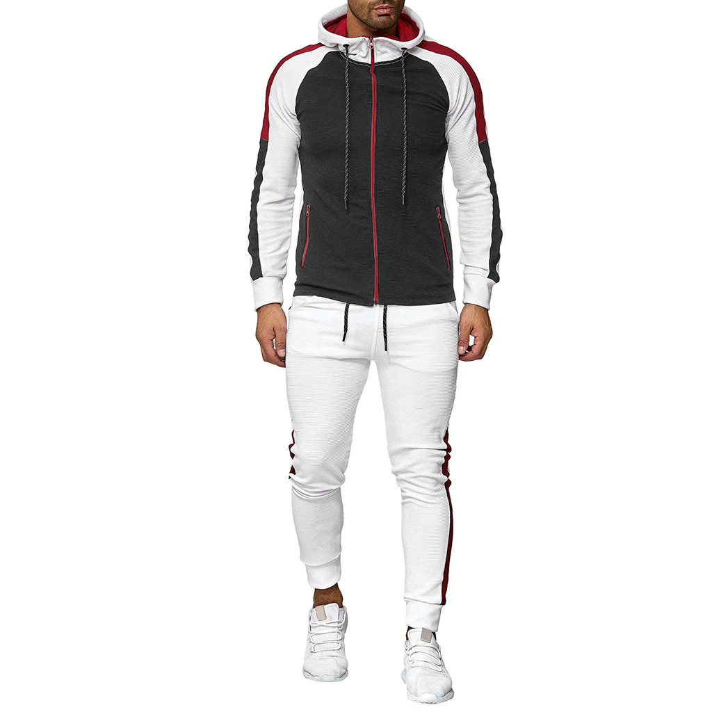 Womail High Quality Sports Suits And Pants Set Autumn Winter Mens Suits Designers 2019 Fashion Hoodie Casual Mens Hoodies