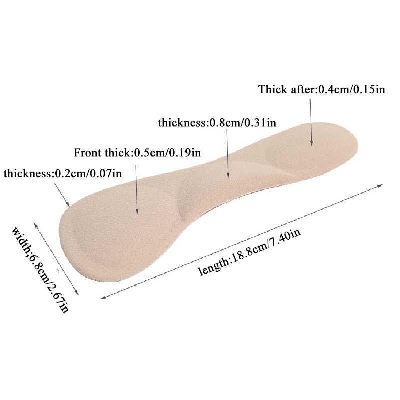 1 Gel Hình Chữ T Đế Lót Cách Nhiệt Cao Gót Giày Miếng Lót Siêu Mềm Đế Không Trượt Xốp Đệm Gót Chân tấm Bảo Vệ Phụ Kiện