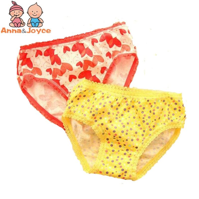 5Pcs Baby Kids  Underwear Girls Cotton Panties Girls Briefs 1-12 Years 3