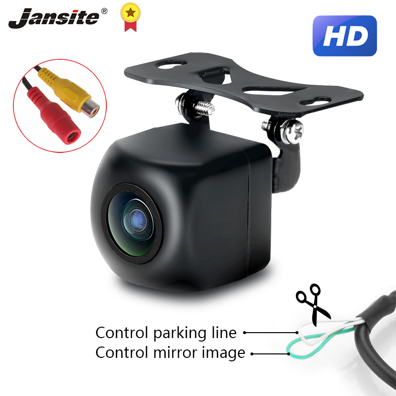 Jansite Reverse Camera Universal rear view camera IP68 backup camera Waterproof Night Vision 12V for car player car monitor