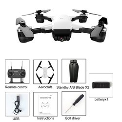 Aerial Photography Aircraft With Wifi HD Real-time FPV Camera Remote Control Drone 720P Wide-angle Lens Self-Timer Drone