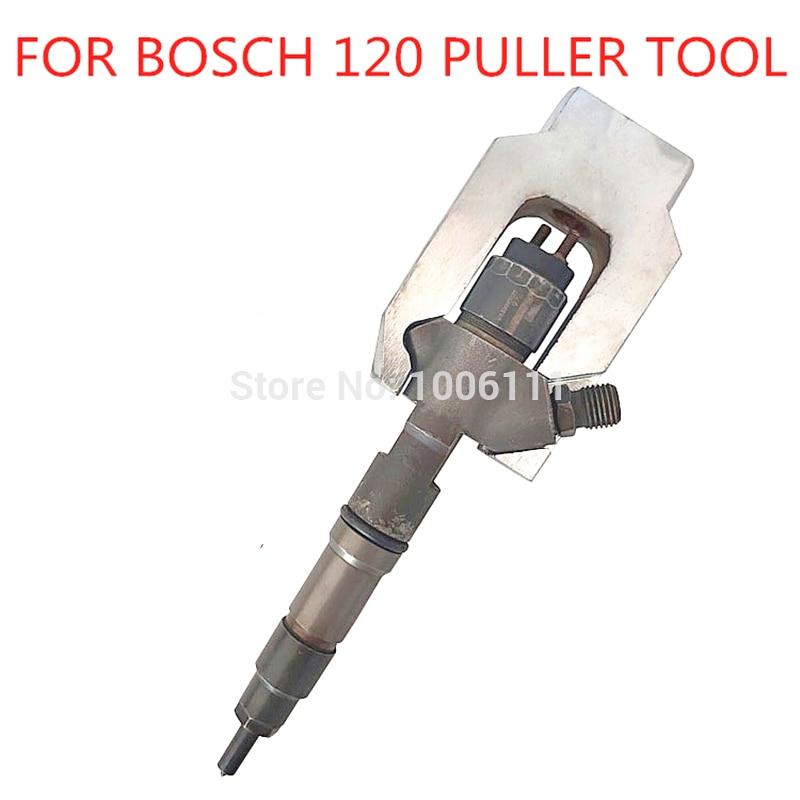 Para bosch 120 weichai diesel injector trilho comum remover ferramentas de desmontagem do extrator