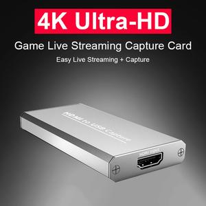 Game-Capture-Card Video-Recording Live-Broadcasts HDMI 1080P 4K for Usb-3.0 Suitable