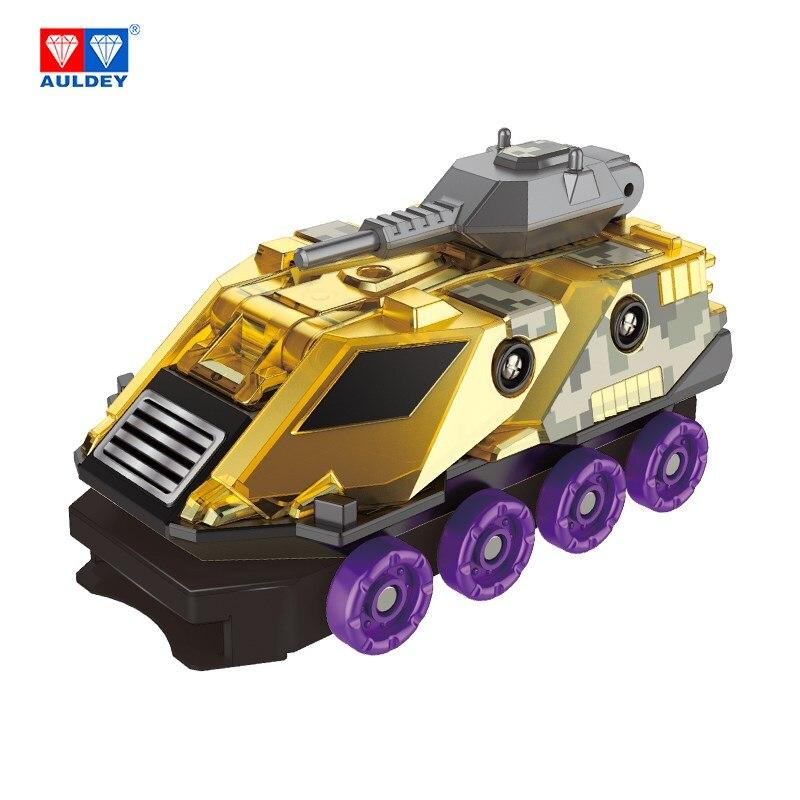 Image 4 - AULDEY Screeches Wild Burst Deformation Car Action Figures DPTI Morphs Capture Wafer 360 Degree Transformation Car ToysAction & Toy Figures   -