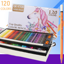 цена на 120 professional colored pencils drawing Oil colored pencil Set Artist Painting Sketching prismacolor colors pencils School Art
