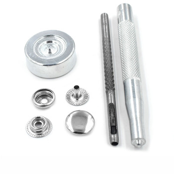 30 sets Metal snap 12.5mm 15mm Fastener metal buttons Rivets Clasp Snap fastener Snaps Buttons Jacket