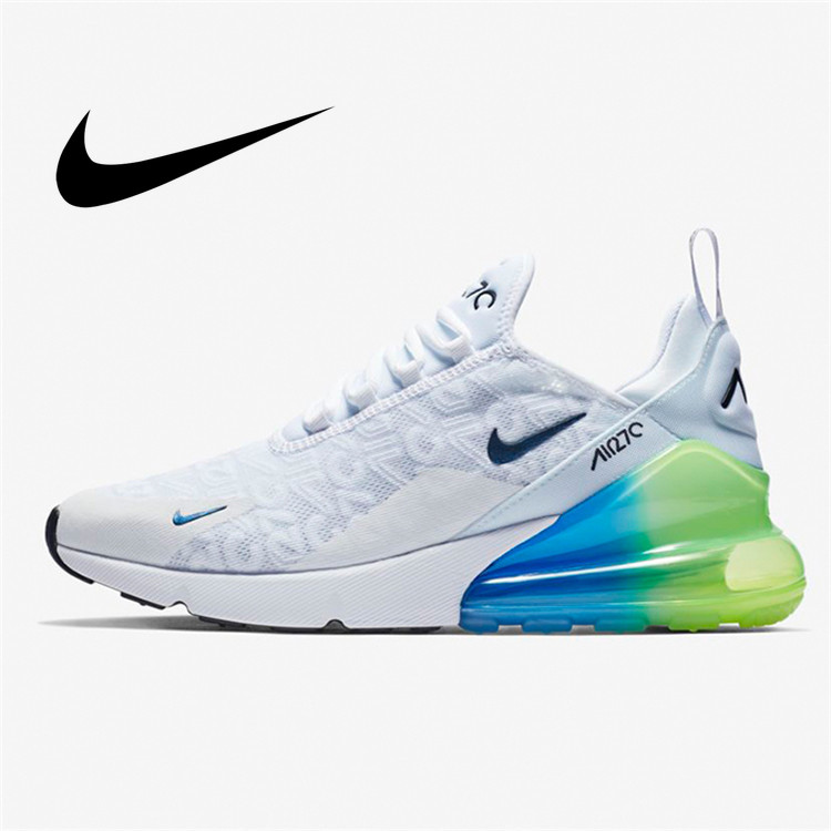 Original Authentic Nike Air Max 270 Men's Running Shoes Classic Outdoor Sports Shoes Comfortable Shock Absorption AQ9164-101