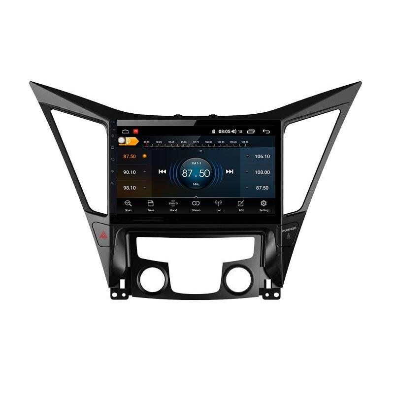 Sale Sonata Android 9.0 8-core car radio 1din car bluetooth gps trackfor 2013-2017 Hyundai sonata 2