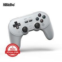 8BitDo Pro 2 Bluetooth Gamepad controlador con Joystick para Nintendo interruptor PC macOS Android de vapor y Raspberry Pi