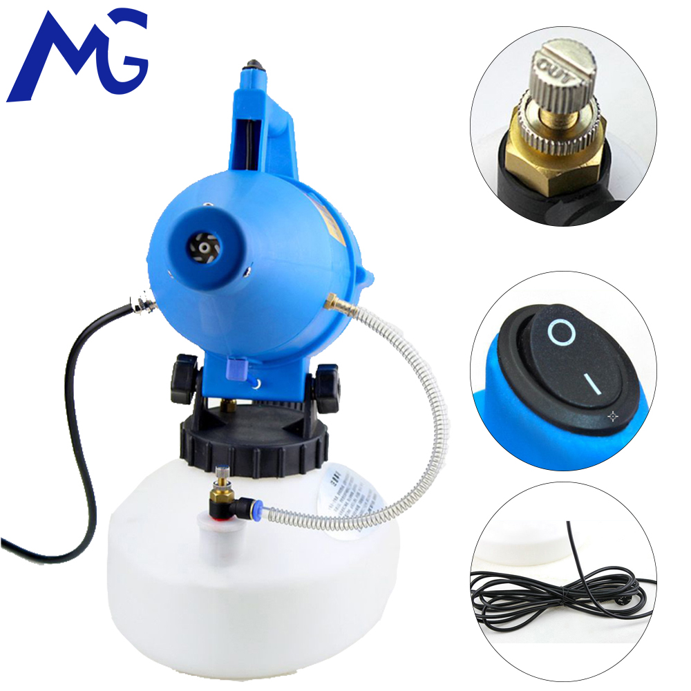 MG 4.5L 110V/220V Electric ULV Sprayer Mosquito Fogging Machine Intelligent Ultra Low Capacity Fogger Disinfection Machine  - buy with discount