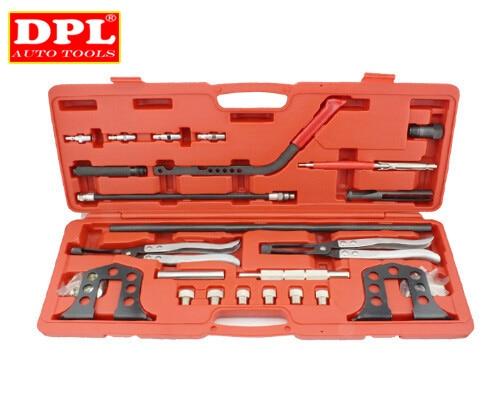Cylinder Head Service Set Valve Spring Compressor Removal Installer Kit