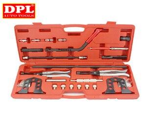 Image 1 - Cylinder Head Service Set Valve Spring Compressor Removal Installer Kit