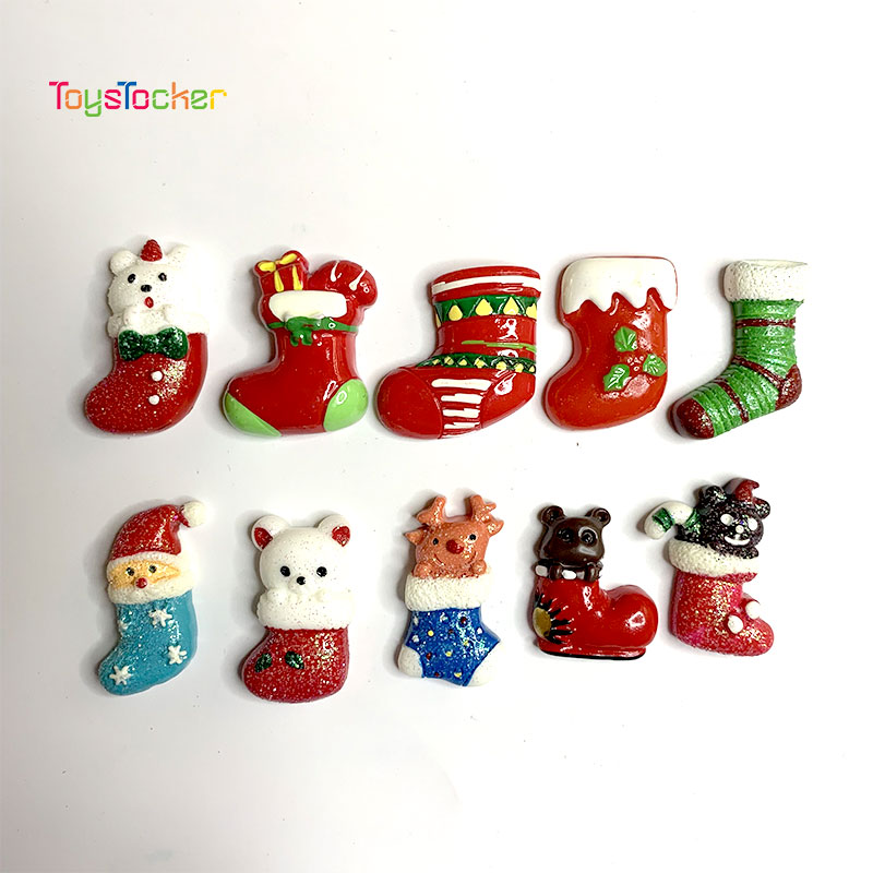 5 PCS 2019 High-Quality Christmas Socks Exclusive For Home Christmas Tree Decorations Children's Gift Tiny Toys