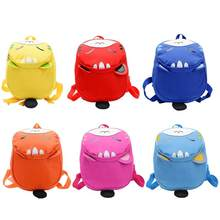Cute Cartoon Cat Children Nylon Backpack Kindergarten Shoulder Schoolbag(China)