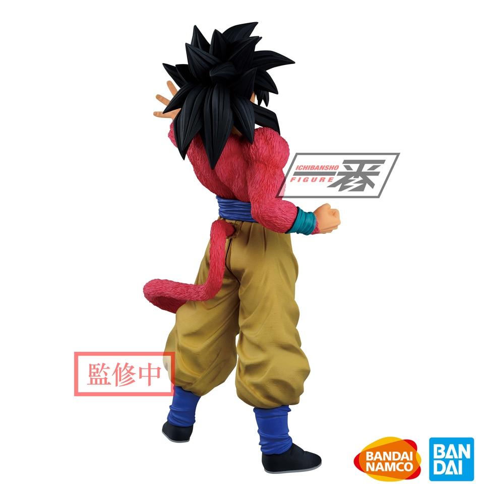 Image 3 - Tronzo оригинальный Banpresto Dragon Ball GT Greatest Saiyan Goku  SSJ4 ПВХ фигурка модель игрушки Супер Saiyan Goku фигурки  подарокИгровые фигурки и трансформеры