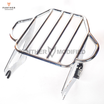 2-Up Moto Tour Pak Luggage Rack Case for Harley Electra Glide Road King Street 2009-2016