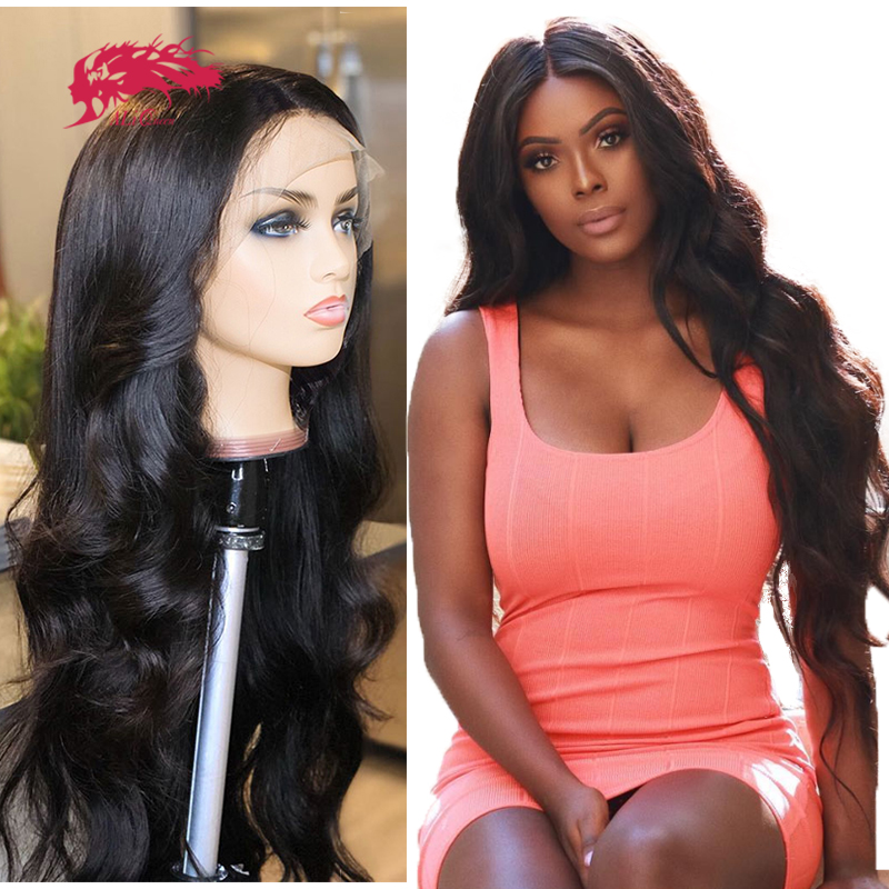 Brazilian Body Wave Wigs 8-32inches Bundle With Transparent HD Lace Closure / 13x4 Lace Frontal Virgin Remy Human Hair Wigs