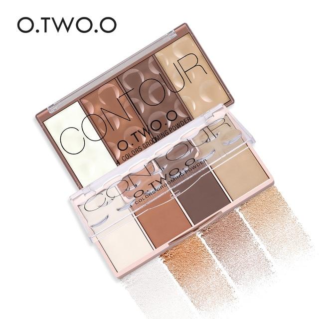 O.TWO.O 11 unids/set maquillaje Kit incluye colorete sombra de ojos corrector Contorno de destacar Mascara de delineador de ojos en polvo suelto 6