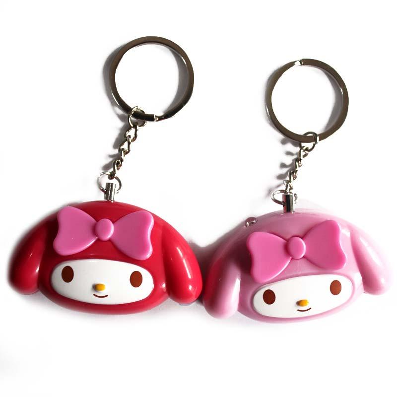 Mini Self Defense Keychain Alarm Super Loud Personal Security Anti-Attack Emergency Keyring PR Sale