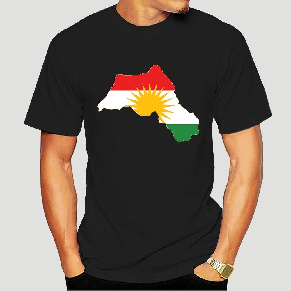 Fashion T-shirt Moda verão Estilo curdistão Bandeira Mapa algodãomasculina Manga Curta o-pescoçohip Hoptops Streetwear 2299x