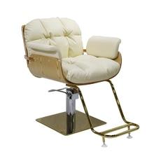 Sedia шезлонг Barbeiro Stoelen Парикмахерская Sedie beauty Barbero мебель для маникюра Barbearia Silla магазин Cadeira парикмахерское кресло