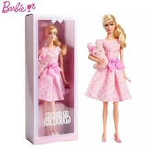 Original Barbie Collector's Edition DGW37 Pink Blessing Sweetheart Girl Barbie Princess Doll Girl toy birthday christmas gift
