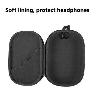 Image 2 - הגנת באיכות גבוהה מקרה עם Carabiner אחסון תיק לבוס QC15 QC25 QC35 אוזניות מקרה תיבת לbose אוזניות 35 השני
