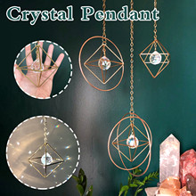 Home Decoration Accessories Crystal Colorful Glass Jewelry Home Decoration kawaii Room Decor
