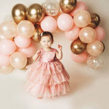 Rosa ouro balão guirlanda fazendo ouro chrome balão aniversários casamento festa de chuveiro do bebê decorações de celebração