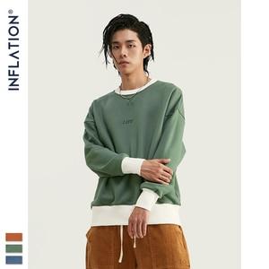 Image 3 - インフレ 2020 デザイン特大男性のプルオーバー綿 100% メンズシャツ刺繍ロゴ男性トレーナー 9604