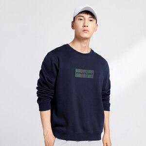 Image 3 - Pioneer Camp z polaru grube bluzy męskie zimowe ciepłe 100% bawełniane bluzy z kapturem męskie marki odzież na co dzień Plus rozmiar XXXL