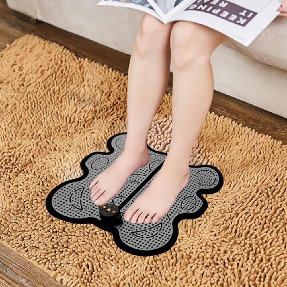 USB Charging Physiotherapy Foot Massage Leg Thin Legs Pedicure Massage Machine Pad Machine Physiotherapy Foot Massager