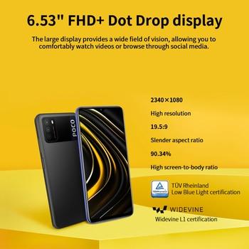 "POCO M3 Global Version 4GB 64GB/128GB Xiaomi SmartPhone Snapdragon 662 Octa Core 6.53"" FHD+Display with 48MP AI Triple Camera 4"