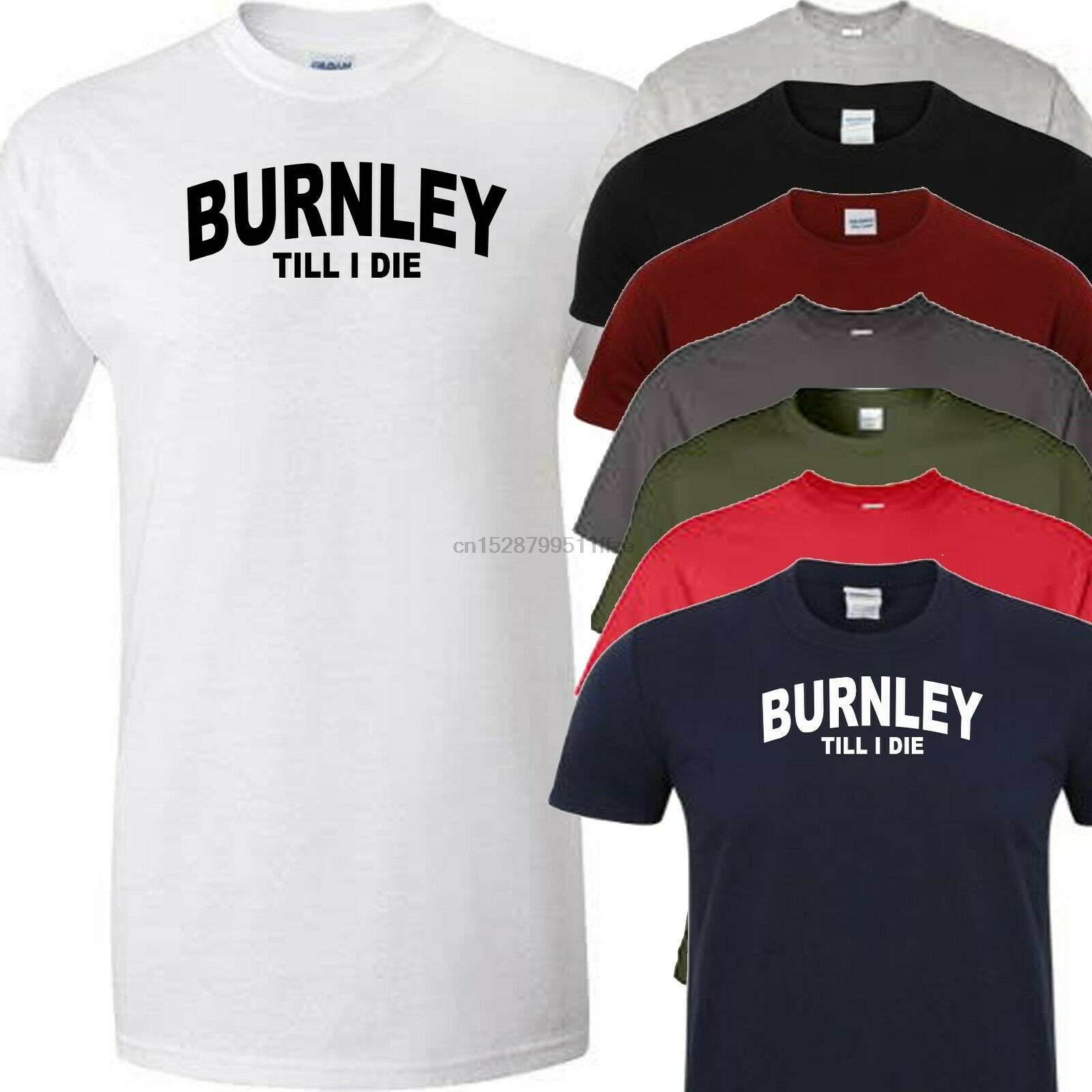 Burnley Till I Die Football T Shirt