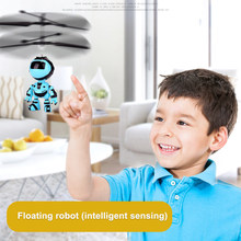 Intelligent Hand Sensing Fly RC Robot Bird Kids Toys Electronic Aircraft Suspension Toys For Child Smart Pet Action Float Robot(China)