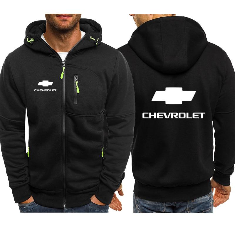 Chevrolet Mens Do The Bu Pullover Hoodie