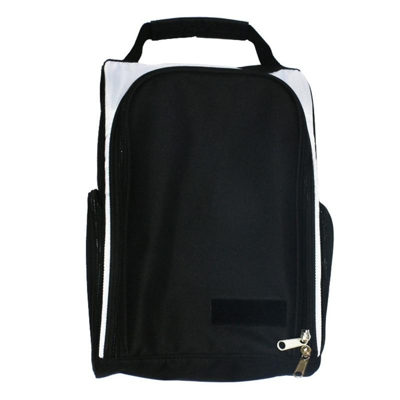 New Golf Shoes Bag Zipped Sports Bag Shoe Case Golf Shoe Bag-Zippered Shoe Carrier Bags
