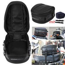 Водонепроницаемая сумка для мотоцикла 7,5-10 л, сумка для мотоцикла, багажное сиденье, крепление, коробка, ручная черная Мода