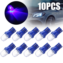 10pcs 168 194 1 Smd Blue Led Auto Wedge Light Super Bright Side Dashboard Number Plate Lamp Dome Bulb for Car Source