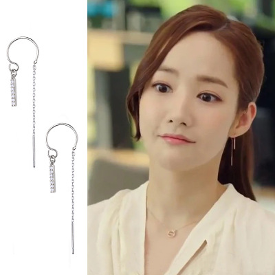 Why Secretary King Smile Park Min Young Korean Drama Ear piercing Personality exaggeration Earrings For Women Girls Pendientes